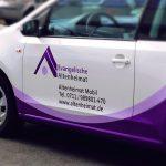 Evang Altenheimat | Fahrzeugbeschriftung