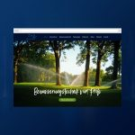 Aqua in Motion | Website Redesign Header
