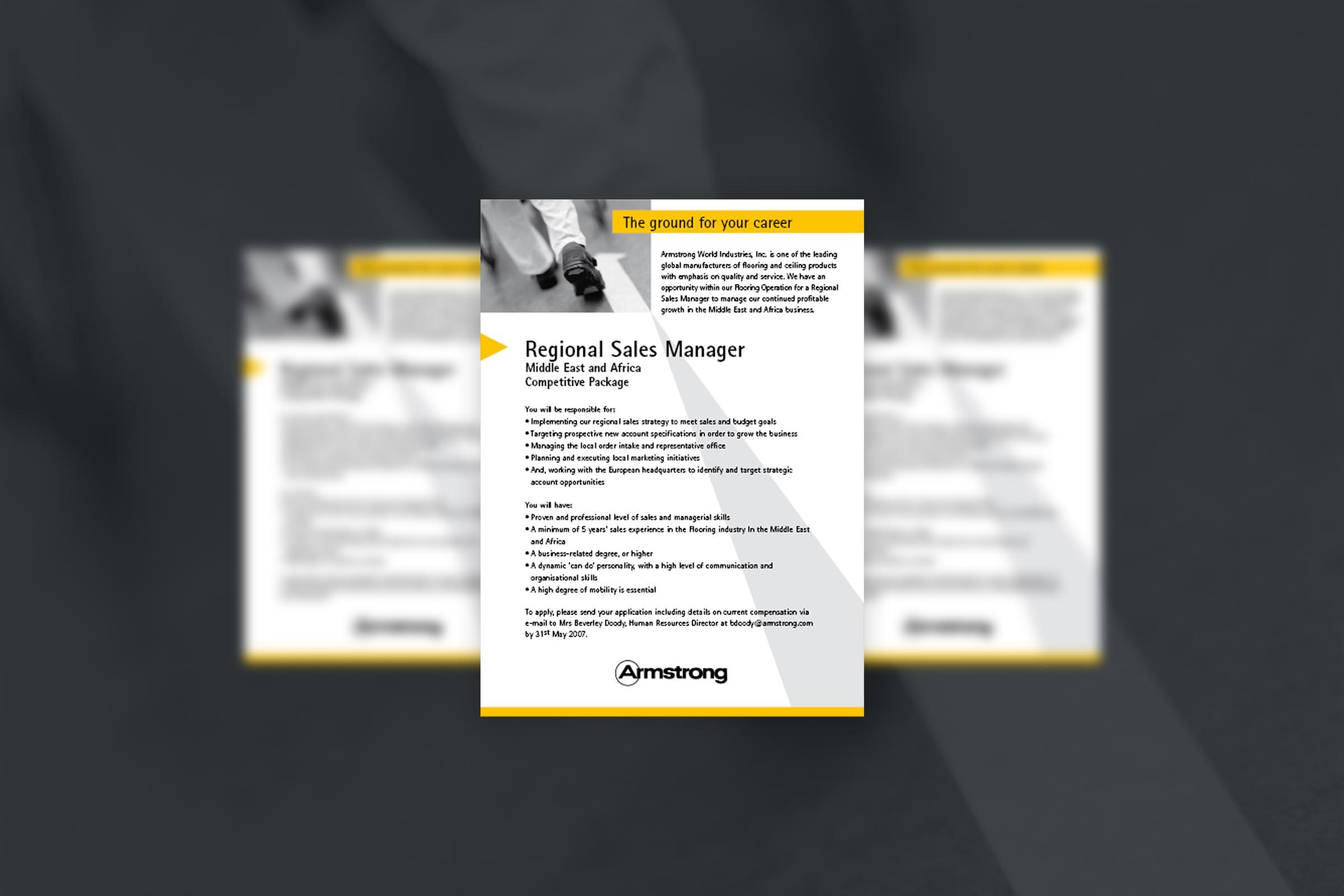 Armstrong | Personalanzeigen