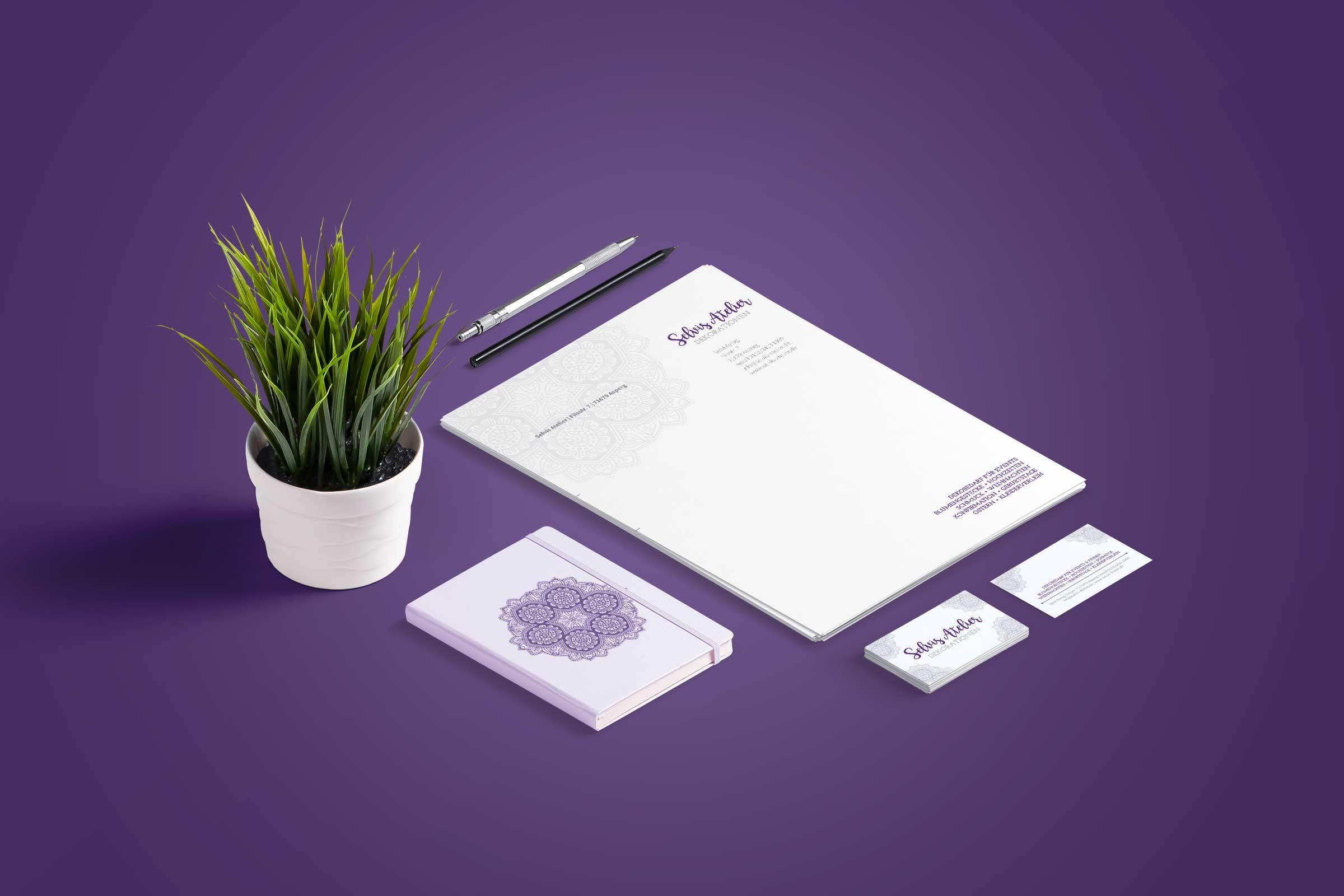 Selvis Atelier | Geschäftsausstattung Header